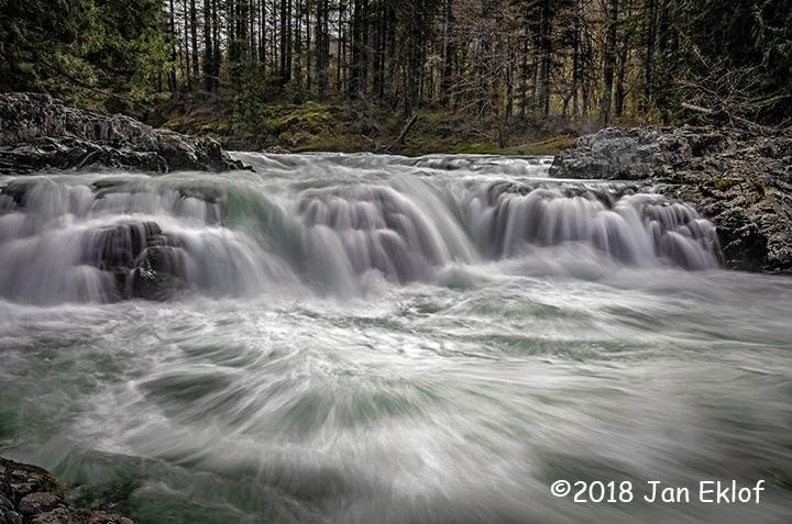 2nd Place Scenic - Lucia Falls by Jan Eklof