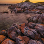 3rd Place Scenic - Sunrise S Curve by Drinda Battaile