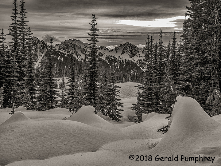 3rd Place Scenic - Tatoosh Sunset by Gerald Pumphrey